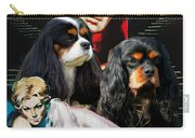 Cavalier King Charles Spaniel Art - Vertigo Movie Poster Carry-all Pouch