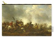 Cavalry Attacking Infantry Carry-all Pouch