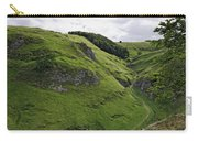 Cave Dale From Peveril Castle Carry-all Pouch