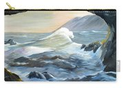 Cave Wave By Chris Carry-all Pouch