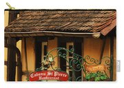 Caveau St Pierre Sign In Colmar France Carry-all Pouch