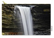 Cavern Cascade Carry-all Pouch by Frozen in Time Fine Art Photography