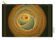 Cavern Framed Green And Gold Carry-all Pouch