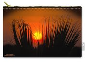 Cayo Grande Palm Tree Sunrise Carry-all Pouch