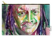 Cecil Taylor - Watercolor Portrait Carry-all Pouch