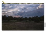 Cedar Park Texas Cedar And Clouds Sunset Carry-all Pouch