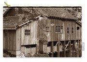 Cedar Creek Grist Mill Sepia Carry-all Pouch