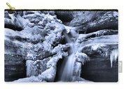 Cedar Falls In Winter Carry-all Pouch