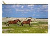Cedar Island Wild Mustangs 51 Carry-all Pouch