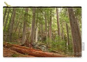Cedar Logs At Garibaldi Carry-all Pouch