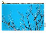 Cedar Wax Wings Carry-all Pouch