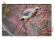 Cedar Waxwing Feeding Carry-all Pouch
