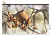 Cedar Waxwing - Img_0010-7x5 Carry-all Pouch