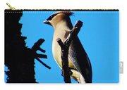 Cedar Waxwing In Tree 030515aaa Carry-all Pouch