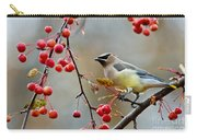 Cedar Waxwing Pictures 50 Carry-all Pouch