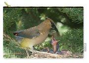 Cedar Waxwings Carry-all Pouch