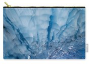 Jagged Ceiling Of Paradise Ice Cave Carry-all Pouch