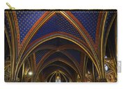 Ceiling Of The Sainte-chapelle  Paris Carry-all Pouch