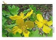 Celandine Poppy Or Wood Poppy - Stylophorum Diphyllum Carry-all Pouch