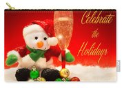 Celebrate The Holidays Carry-all Pouch