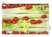 Celery And Tomatoes Carry-all Pouch