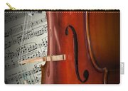Cello Bridge And Beethoven Carry-all Pouch