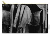 Cellos 6 Black And White Carry-all Pouch