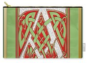 Celtic Christmas A Initial Carry-all Pouch