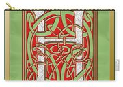 Celtic Christmas H Initial Carry-all Pouch