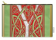 Celtic Christmas Initial Y Carry-all Pouch