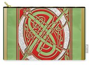 Celtic Christmas Q Initial Carry-all Pouch