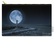 Celtic Cross And Moon Carry-all Pouch