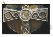 Celtic Cross Sepia Carry-all Pouch