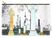 Celtic Crosses Carry-all Pouch