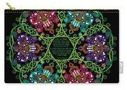 Celtic Fairy Mandala Carry-all Pouch