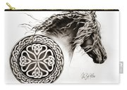Celtic Friesian Carry-all Pouch