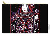 Celtic Queen Of Hearts Part I Carry-all Pouch