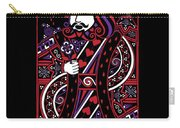 Celtic Queen Of Hearts Part IIi The King Of Hearts Carry-all Pouch