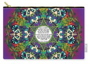 Celtic Spring Fairy Mandala Carry-all Pouch