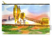 Cement Plant Across The Tracks Carry-all Pouch by Kip DeVore