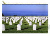 Cemetery At Waterfront, Fort Rosecrans Carry-all Pouch