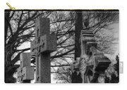 Cemetery Crosses Carry-all Pouch