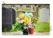 Cemetery Flowers Carry-all Pouch