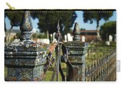 Cemetery Gate With Peeling Paint Carry-all Pouch