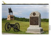 Cemetery Ridge Gettysburg Carry-all Pouch by James Brunker