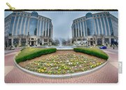 Center Fountain Piece In Piedmont Plaza Charlotte Nc Carry-all Pouch