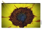 Center Of A Sunflower Carry-all Pouch