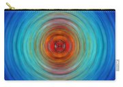 Center Point - Abstract Art By Sharon Cummings Carry-all Pouch