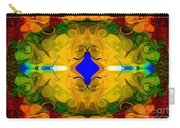 Centered In Peace Abstract Pattern Artwork By Omaste Witkowski Carry-all Pouch