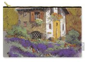 Cento Lavande Carry-all Pouch by Guido Borelli